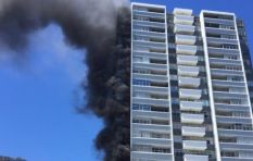 [VIDEO] Firefighters quell Sea Point apartment fire quickly