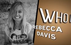 This is no April fool... Rebecca Davis is the #FridayStandIn