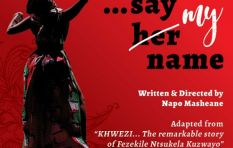 Preview into 'Khwezi...Say my name' - the play
