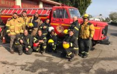 Volunteer JHB firefighters made 'huge difference' helping with #KnysnaFires
