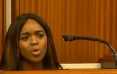 Support for #CherlyZondi as she wraps up her testimony against Tim Omotoso