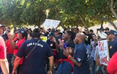 [WATCH] Cape Town firefighters march to demand proper overtime pay