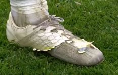 [WATCH] Aston Villa star Jack Grealish plays with ruined 'lucky' boots