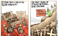 [CARTOON] Cosatu steps in the right direction