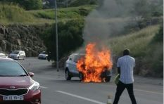 Another Ford Kuga on fire in Alberton