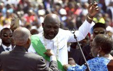 [LISTEN] George Weah sworn in as Liberia's president