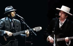 Professor explores meaning behind music of Leonard Cohen and Bob Dylan