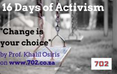 #16Days : Change is your choice