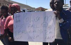 Police Minister visits Marikana informal settlement in Cape Town