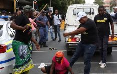 [VIDEO] Woman protester beaten up outside Luthuli House by suspected ANC member