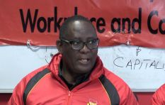 Vavi: The march became a celebration as workers will return to Prasa on Monday