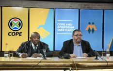 Cope's Lekota joins forces with AfriForum to 'protect property rights'