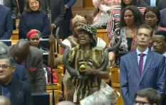 Khoi people's first Sona praise singer: 'Wow, what a moment!'