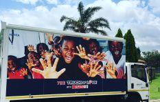 702 Truck of Love with Spar visits Kempton Park