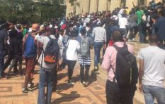 Wits students and campus security in stone throwing exchange