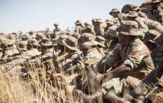 SA soldiers almost sent home due to food shortages