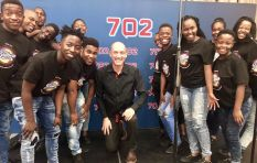 [WATCH] Wouter Kellerman and the Ndlovu Youth Choir on 702's Unplugged