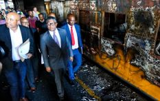 Where was security when trains got torched in Cape Town, asks Brett Herron?