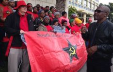 SACP pickets corporate capture and corruption outside Parliament