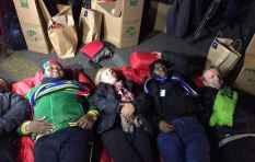The morning after the 702 Sun International CEO SleepOut