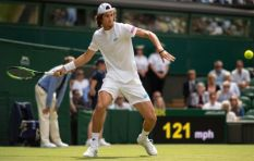 [LISTEN] SA tennis star Lloyd Harris on playing hero Federer at Wimbledon