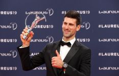 EWN's Cindy Poluta on speaking to winner Djokovic at Laureus World Sports Awards