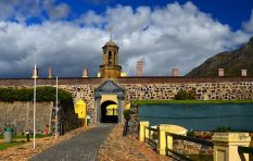 Flash floods at Castle of Good Hope, first in a decade