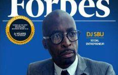 DJ Sbu explains fake Forbes Africa magazine cover