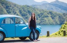 Woman arrives in CT after driving from Scotland to SA in her old Morris Minor