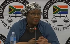 Vytjie Mentor pressed on discrepancies in her testimony
