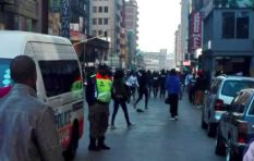 Joburg city centre calm after vendors' clash with police on Thursday