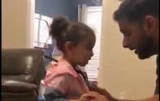 [WATCH] Kid comes home with jacket that's not hers with hilarious explanation