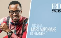 Multi-talented Maps Maponyane hosts the Redi Tlhabi show