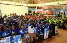 Xolani Gwala #OutForElections in Eldorado Park