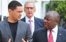 [WATCH] Trevor Noah takes us behind the scenes meeting President Ramaphosa