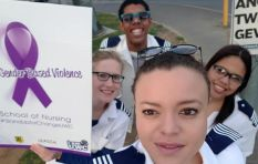 Student nurses raise funds for gender violence victims #StandUpforChangeUWC