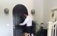[WATCH] Kid goes from 'be a fart machine at work' to 'I love you dad'