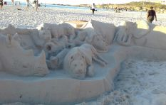 City to help talented Cape sand sculptor get permit to continue beach artwork