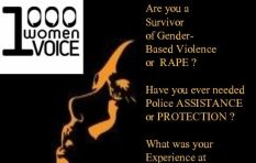 1000 Women: Encouraging women to share their stories of police station abuse