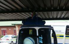 "Hendrick ""Helicopter Man"" Chebanga shows off his lifesize Saps replica chopper"