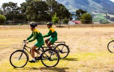 Bike charity Qhubeka has wheeled off 100,000 bicycles to rural schoolkids so far