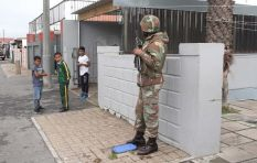 Kids can play in the streets now - SANDF deployment one week on