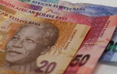 The rand weakens by 4.3% against US dollar