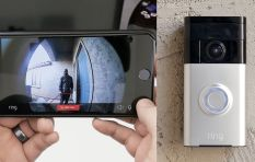 This video doorbell lets homeowners check on the front door from their phones