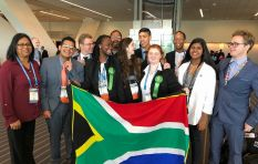 Young scientists from Cape Town make their mark on the world stage