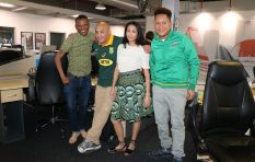 Capetalk and Kfm staffers show some rugby gees for #SouthAfrica2023