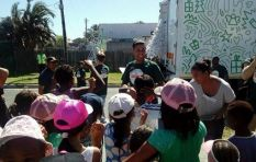 Truck of Love brings festive cheer to children at Jones Safe House