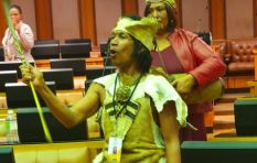 [VIDEO] Mzansi moved by Khoi Nation praise singer at Sona