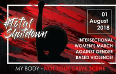 SA prepares for #TotalShutdown march against gender based violence