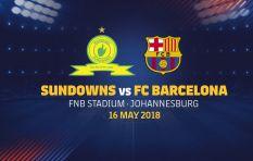 Barca vs Sundowns tickets selling like 'crazy'
